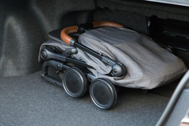 Złożony wózek 3w1